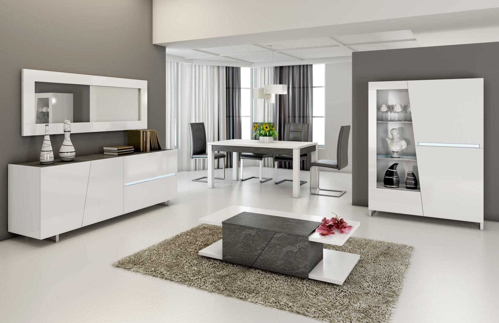 amenagement cuisine salon salle a manger cuisine. Black Bedroom Furniture Sets. Home Design Ideas