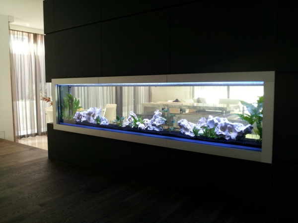 D co salon aquarium - Grand stickers muraux pas cher ...