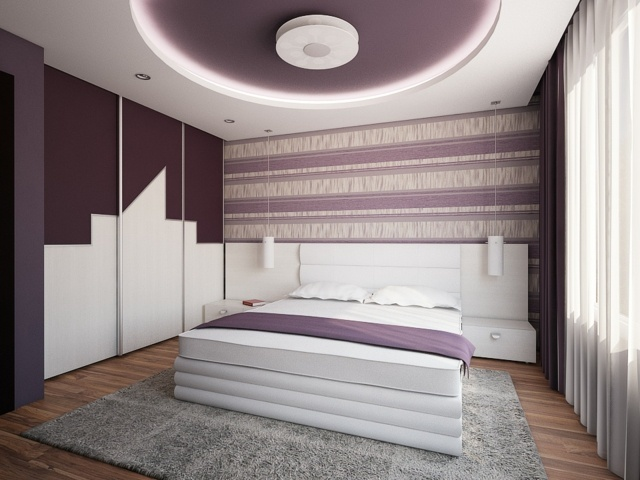 chambre-coucher-faux-plafond - Dar Déco, Décoration intérieure ...