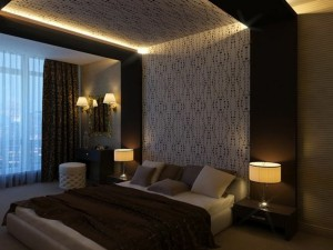 faux-plafond-suspendu-avec-éclairage-moderne