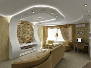 faux-plafond-suspendu-salon-blanc