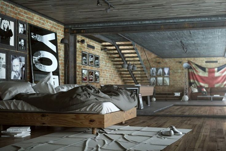 d coration industrielle pourquoi pas voici nos id es pour la r ussir. Black Bedroom Furniture Sets. Home Design Ideas