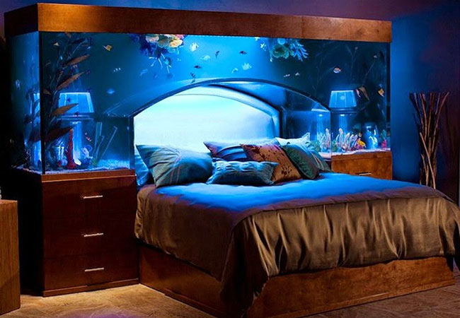 aquarium decoration design chambre dar d co d coration int rieure maison tunisie. Black Bedroom Furniture Sets. Home Design Ideas