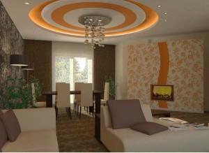 faux-plafond-suspendu-cercles-concentriques