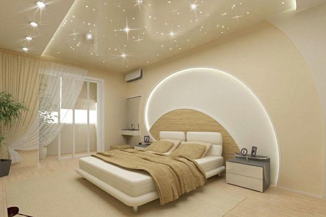 Décoration Chambre à Coucher Faux Plafond