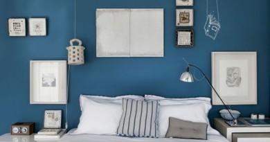 Refaire sa chambre en bleu.
