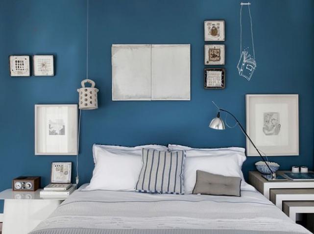 refaire sa chambre en bleu dar d co d coration. Black Bedroom Furniture Sets. Home Design Ideas