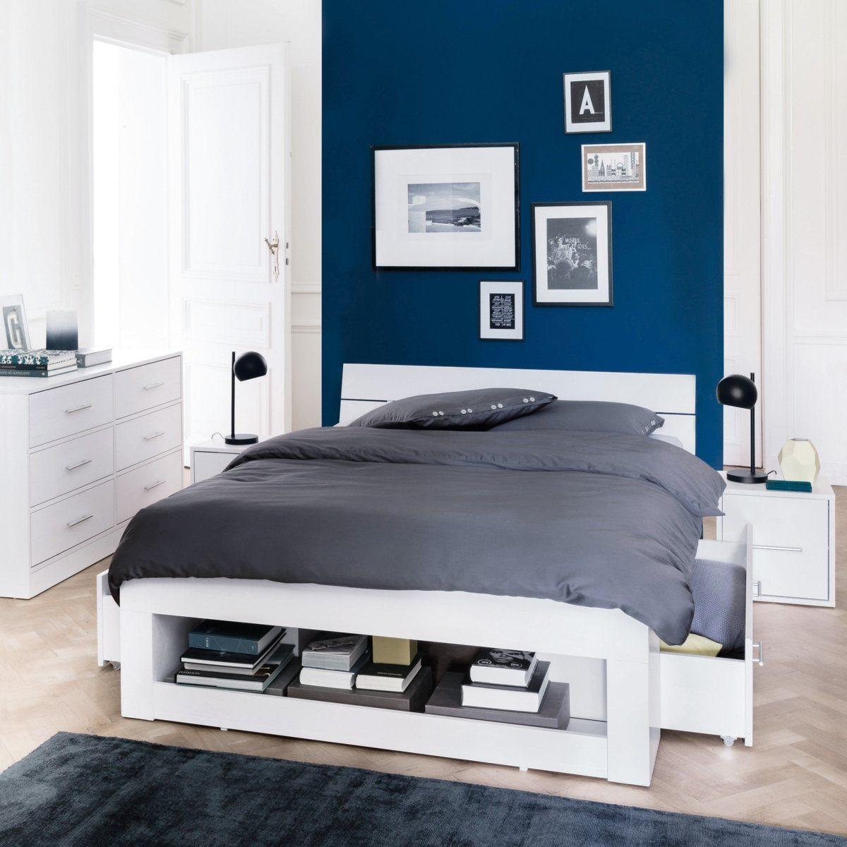 Refaire sa chambre en bleu dar d co d coration - Couleur dans une chambre ...